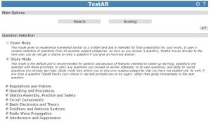 TestAR website
